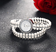 Brand Nice Pearl Lady Women Watch Shinning Bling Bling Quartz Wrist Watches High Quality Cool Watches Unique Watches