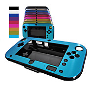 Anti-shock Hard Aluminum Metal Box Cover Case Shell for Nintendo Wii U Gamepad