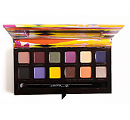 Beverly Hills Artist Palette -12Colors Professional Eyeshadow Concealer Eyes Makeup Cosmetic Palette