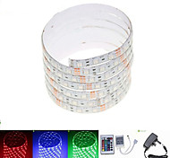 Z®ZDM 2.5M 36W 150x5050 RGB SMD LED DC12V Waterproof Strip Light 12V 3A power AC100-240V