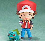 Pocket Little Monster Ash Ketchum 10CM Anime Action Figures Model Toys Doll Toy