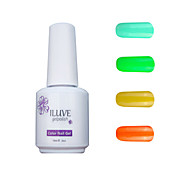 ILuve Gel Nail Polish Set - Pack Of 4 - Long Lasting 3 Weeks Soak Off UV Led Gel Varnish – For Nail Art #4018