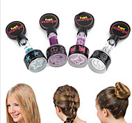 4 colors Hot Stamps Hair Printing Machine