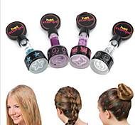 Coloration Cheveux Mouillés & Secs Prolongation de Couleur Taille pour les voyages Mixte Normal Other