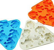 Wendigo Ice Mould Silicone Ice Cubes Tray Pudding Jelly Mold (Random Color)