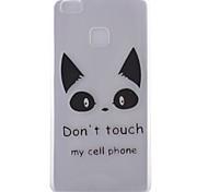 Orecchiette Pattern Transparent TPU Material Soft Phone Case for Huawei Ascend P9/Ascend P9 Lite
