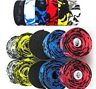 Handlebar Tape Camouflage Cycling Handle Belt Road Bike Bicycle Cork Handlebar Tape Wrap