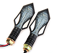 2 X  Motorcycle 13 3528+5630 Smd Led Turn Signal Light Bulb Indicator