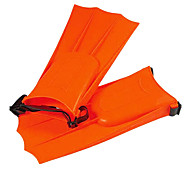 Portable Neoprene Material Diving Fins for Diving/Swimming Orange