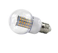 69-LED 5730SMD 8W 85V-265V 900LM White/Warm White LED Corn Light E27/E26/E14/B22