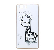 Giraffe New Soft TPU Back Case Cover For DOOGEE X5 Mobile phone bags Cases