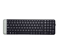 Original Logitech K230 Unifying Receiver Ultra Compact USB Sleek Wireless Keyboard for PC Desktop Black