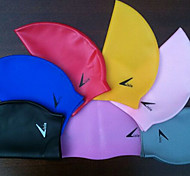 Unisex Silicone Material Swim Caps for Swimming and Diving(Random Colors)