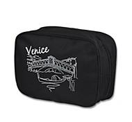 Fashion Portable Fabric Toiletry Bag/Travel Storage for Travel 25*17*9cm