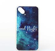 Good Night Pattern TPU+IMD Soft Case for Wiko Sunset2