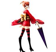 Gintama Kagura 19CM Figuras de Ação Anime modelo Brinquedos boneca Toy