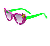 Kids Fashion Cute Cartoon Princess Crown Sunglasses (Random Color)