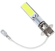 2pcs 12v 80w llevados mazorca coche h3 llevó la lámpara de luz de carretera de coche de bajo lámpara de luz de cruce de niebla del coche