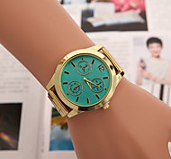 Women's Fashion Personality Quartz Alloy Dress Watch(Assorted Colors)