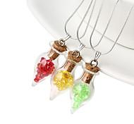 HUALUO®Retro sweater glass ball diamond pendant glass accessories