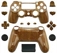 Ersatz-Controller Fall für PS4-Steuerung (Holzmaserung)