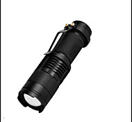 Lights LED Flashlights/Torch LED 350 Lumens 3 Mode LED 14500 AAAAdjustable Focus Waterproof Impact Resistant Clip Emergency Small Size