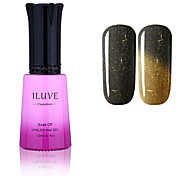 ILuve Nail Polish Temperature Colour Changing Chameleon UV Led Gel - For Nail Art - Long Lasting Soak Off Varnish # 5743