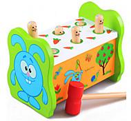 образовательный хомяка перкуссии fruitworm большие деревянные игрушки детские на раннем детстве