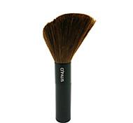 Single Black Bar Rouge Brush Pure Wool Beauty Makeup Brush