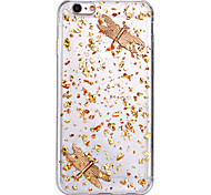 Luxury Dragonfly Design TPU Back Cover Cover for IPhone 6 Iphone6S