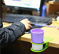 große Kluppentisch Cupholder Clip zufällige Farbe