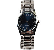 Casual Elastic Belt Men's Watch Cool Watches Unique Watches