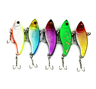 "6pcs pc Esca metallica Colori casuali 9.1g g/1/3 Oncia,55mm mm/2-1/8"" pollice,Metallo Pesca con esca"