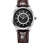eau de mode quartz preuve les montres-bracelets pour hommes