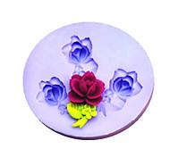 Flores Mold New DIY Flor Silicone Fondant Moldes Sugar Craft Ferramentas Resina Mould moldes para bolos
