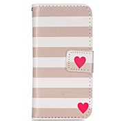 Love Painted PU Phone Case for iphone5SE