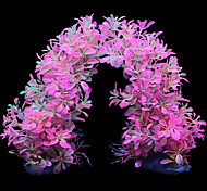 Aquarium Decoration Ornament / Waterplant Artificial / Non-toxic & Tasteless Rubber