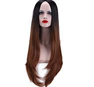 """28 """"естественная волна 2 тон ломбера парик жаростойкий синтетический парик"""