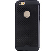 Classic  Mesh Plaid Case Silicone Case Anti-shock Back Cover Case For iPhone 6/iPhone 6S
