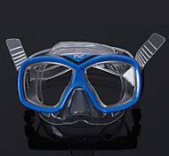 Diving Masks Swim Mask Goggle Diving / Snorkeling PVC Red Orange Yellow Green Blue