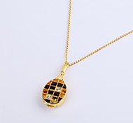 8GB Necklace Badminton Racket Jewelry USB 2.0 Rotatable Flash Memory Stick Drive U Disk ZP-14