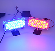 2016 A Pair of Rectangle Red and Blue Explosion-flashing LED Light Stoplight