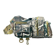 Camouflage Waterproof Nylon Bum Bag for Hunting/Fishing/Camping Hiking