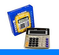 1PC High Quality Classic Computer Button Calculator Desktop Solar Calculator (Style random)