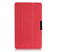 carpeta de la caja cubierta de cuero elegante ultra delgado de lujo para Samsung galaxy tab s tableta T705 T700 8.4