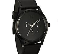 MVMT Watches Leather Calendar Analog Quartz Clock Male Sport Wristwatch Relogio Masculino Men's watches Montres hommes