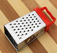 1 Pças. Peeler & Grater For para Vegetable / para Frutas Metal Multifunções / Alta qualidade / Creative Kitchen Gadget