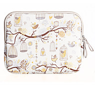 Freedom Bird Design Canvas Laptop Sleeve Bag Case  for Macbook Air 11.6/13.3 Macbook 12 Macbook Pro/13.3