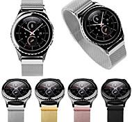 banda de reloj clásico del engranaje s2 suave tejido de reemplazo de la banda de reloj imán Milanese para Samsung s2 clásico de engranajes
