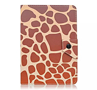 Leopard Grain Pattern 7 Inch Tablet Case Universal Leather Stand Case Cover For 7 Inch Tablet PC Magnetic Flip Cover